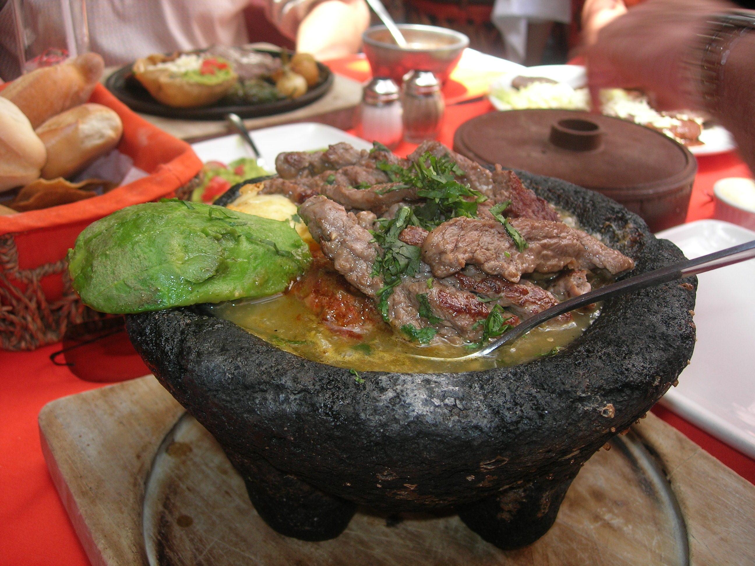 This is Molcajete de Arrechera.  It. was. AWESOME.